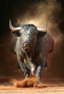 soñar con toros