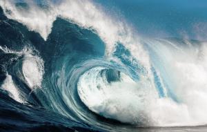 soñar con olas gigantes