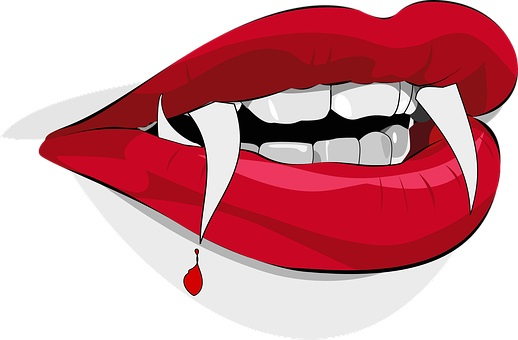 manchas de sangre en todo el cuerpo